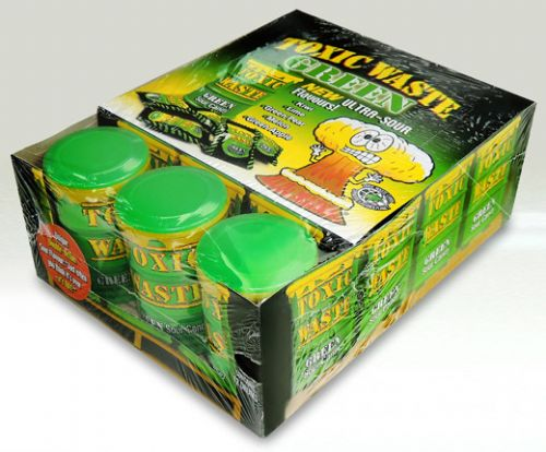 WA09 TOXIC WASTE CANS - GREEN
